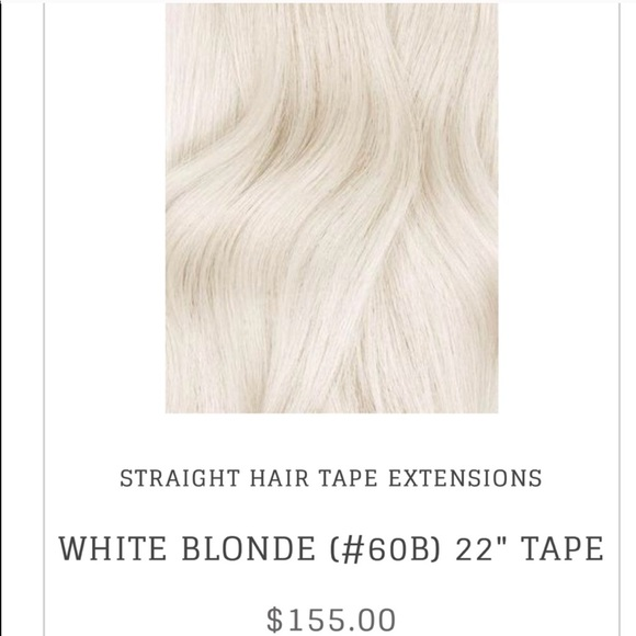 Bombay Hair Other Bombay White Blonde Tape In Hair Extensions